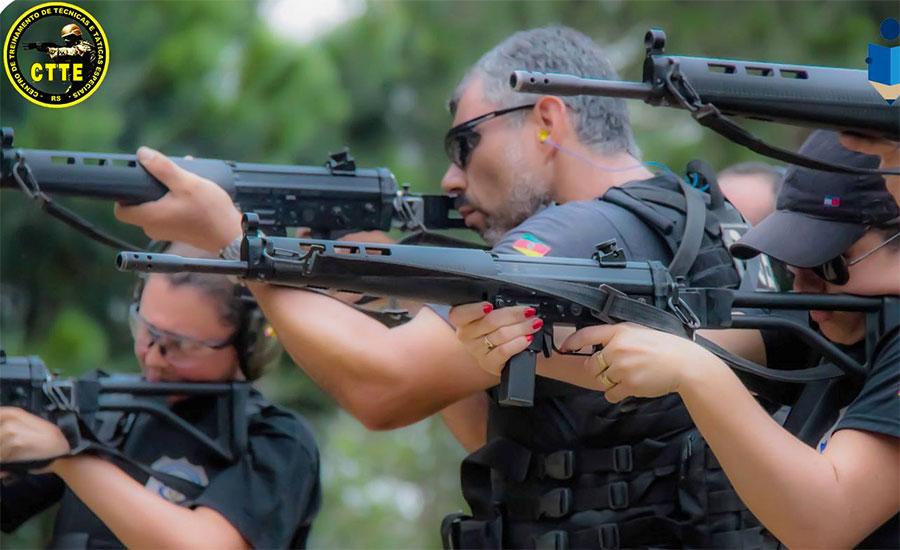 CURSO BÁSICO DE TIRO POLICIAL COM CARABINA