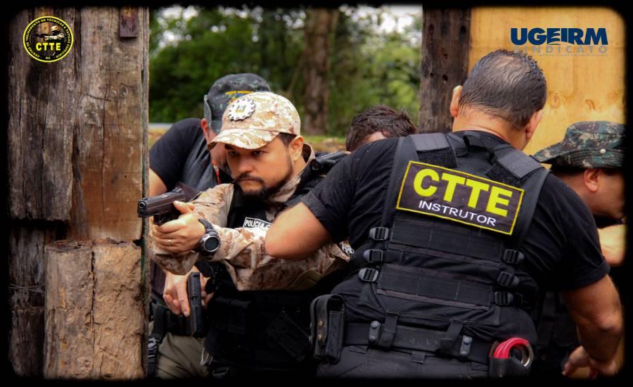 CURSO DE FORMAÇÃO DE INSTRUTOR DE TÉCNICAS POLICIAIS